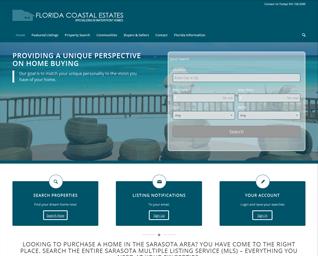 Florida Coastal website slide