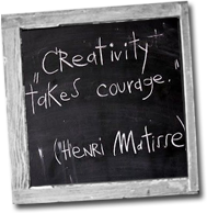creativity takes courage qoute
