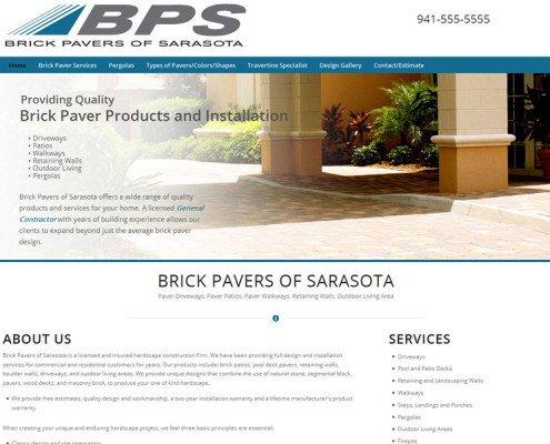 pavers-website-page